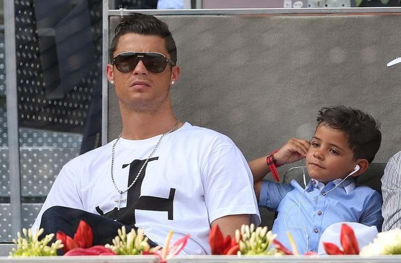 Ronaldo e Cristianinho sempre bastante cumplices