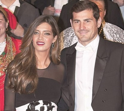 Sara Carbonero e Casillas 'presos' ao Porto