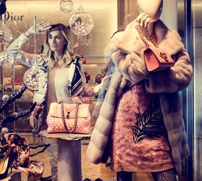 Barbie Girl às compras
