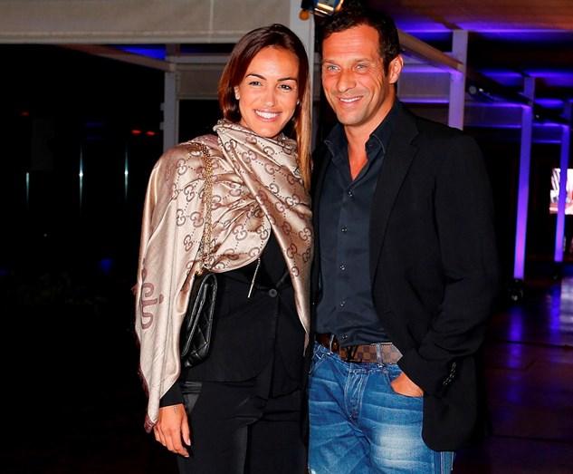 Liliana Aguiar e José Carlos Pereira quando ainda namoravam.
