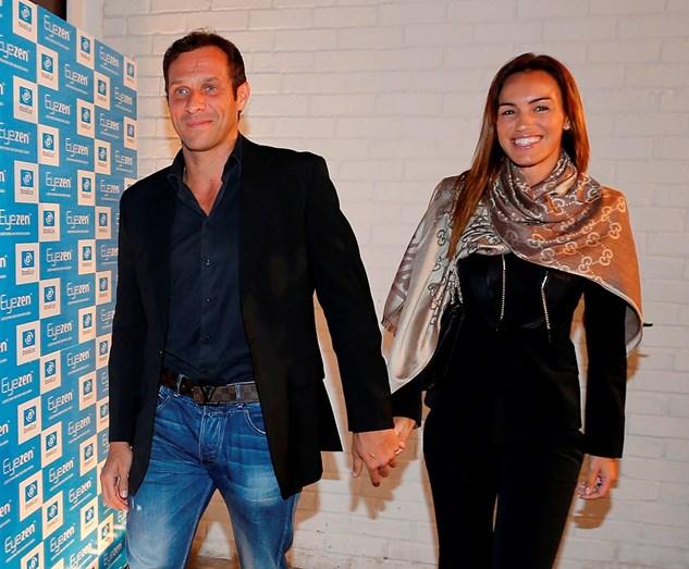 José Carlos Pereira e Liliana Aguiar sorridentes, numa das suas últimas aparições juntos, ainda namorados