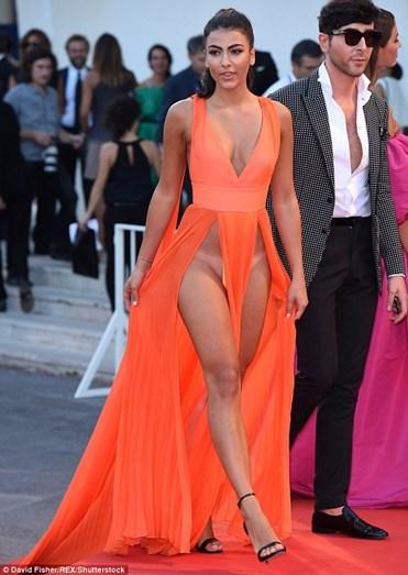 Giulia Salemi livre de preconceitos em Cannes