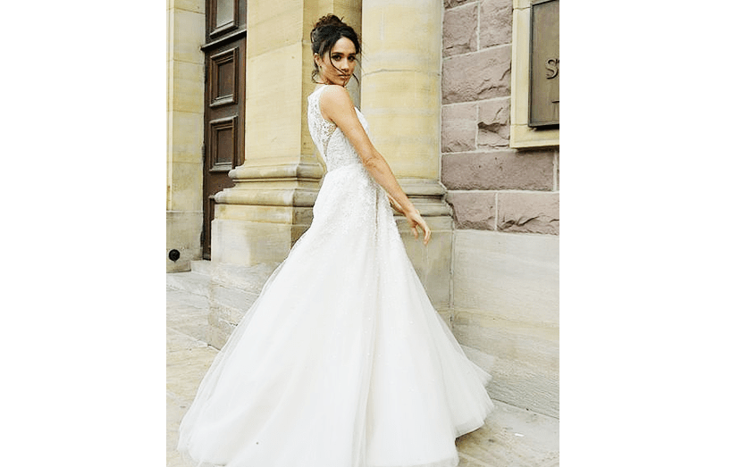 Meghan Markle vestida de noiva em 'Suits&#39