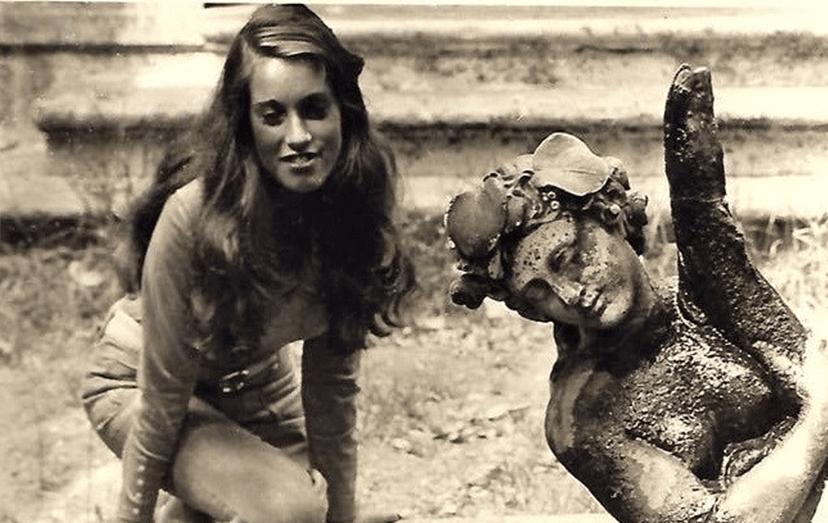 Veja Teresa Guilherme em adolescente