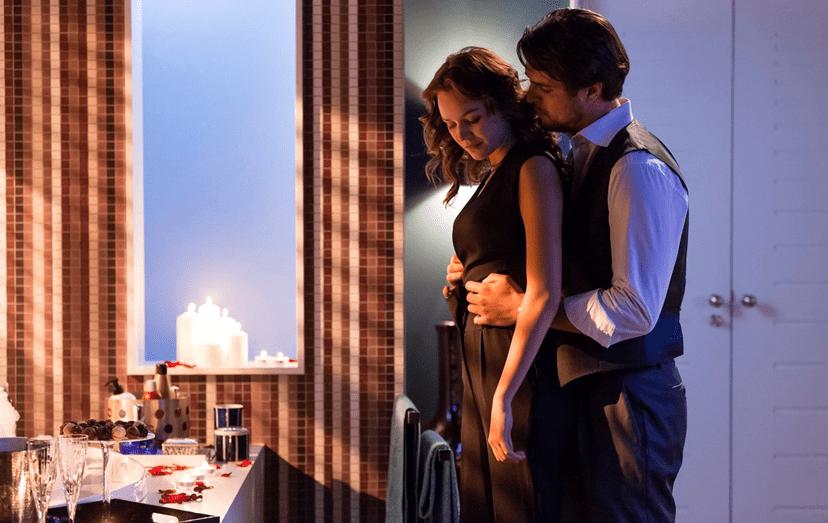 Diogo Morgado e Joana de Verona a contracenar em Ouro Verde da TVI