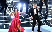 Portuguesa brilha na abertura dos Óscares ao lado de Timberlake