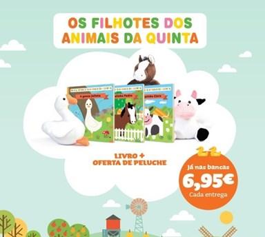 OS FILHOTES DOS ANIMAIS DA QUINTA