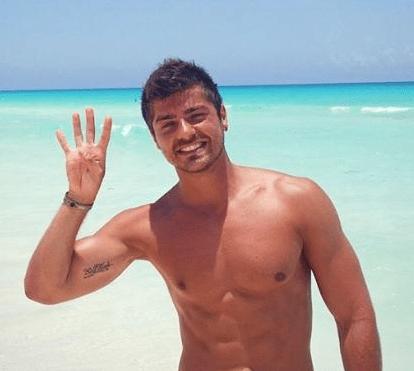 Lourenço Ortigão oficializa namoro com Diana Lousão