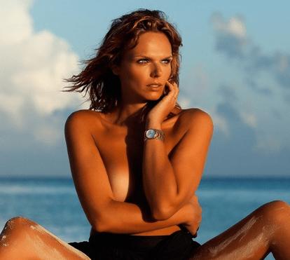 Joana Câncio: Sensualidade nas Caraíbas
