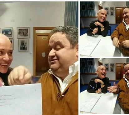 Fernando Mendes elogia luta de Carla Andrino contra cancro