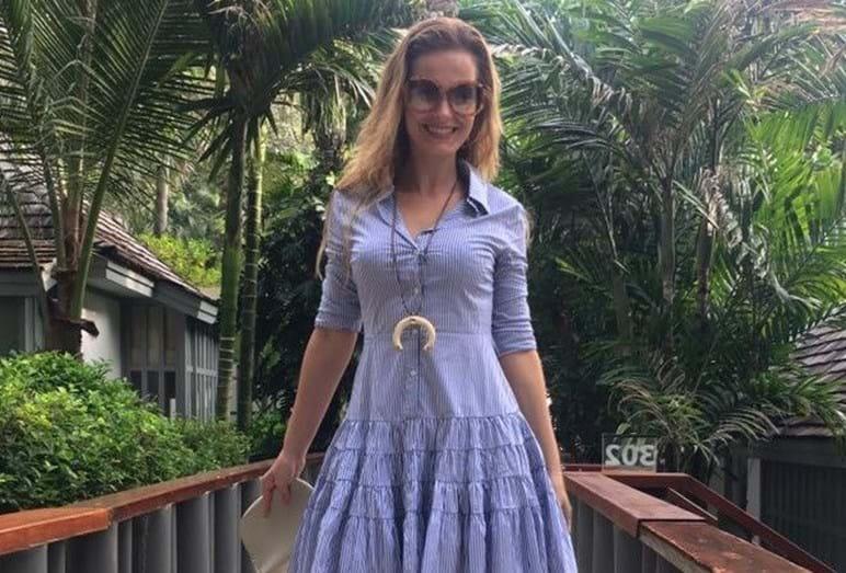 Cristina Ferreira em Phuket, na Tailândia