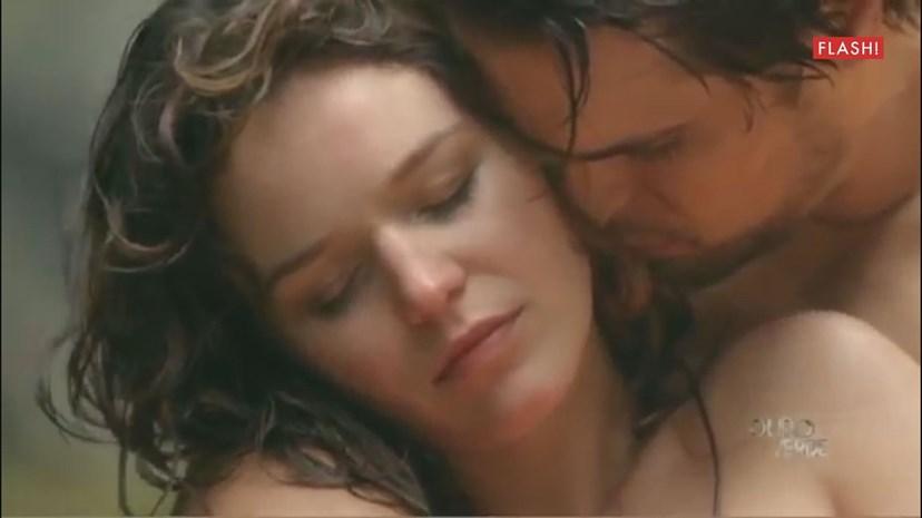 Diogo Morgado e Joana de Verona numa cena de paixão em 'Ouro Verde'
