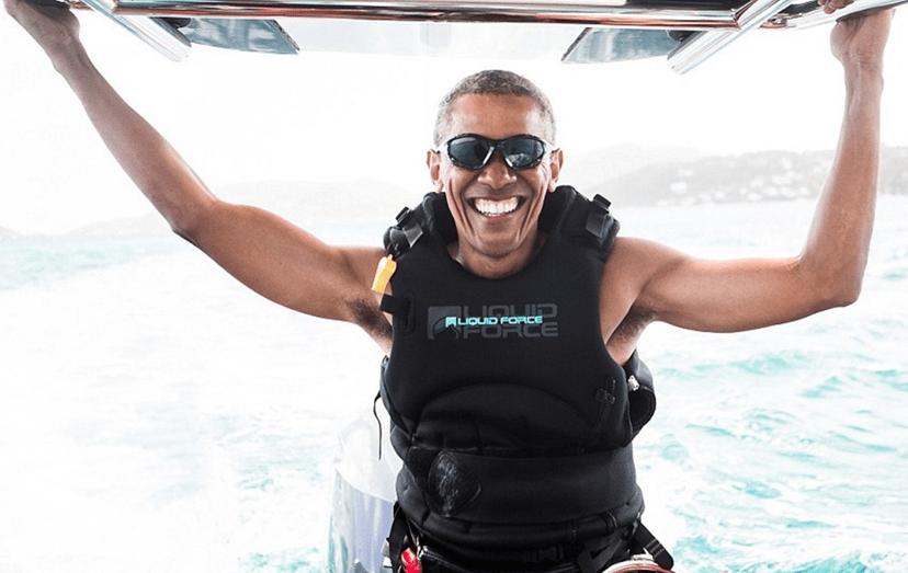 O antigo presidente norte-americano, Barack Obama