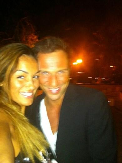 A empresária e o ator em 2012, quando começaram a namorar