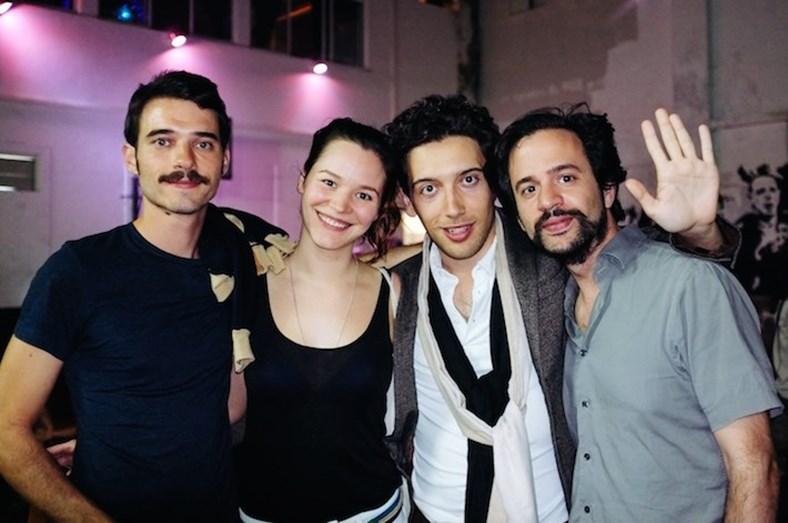 André Marques, Joana de Verona, Pedro Fernandes Duarte e Diogo Costa Amarante no IndieLisboa 2014