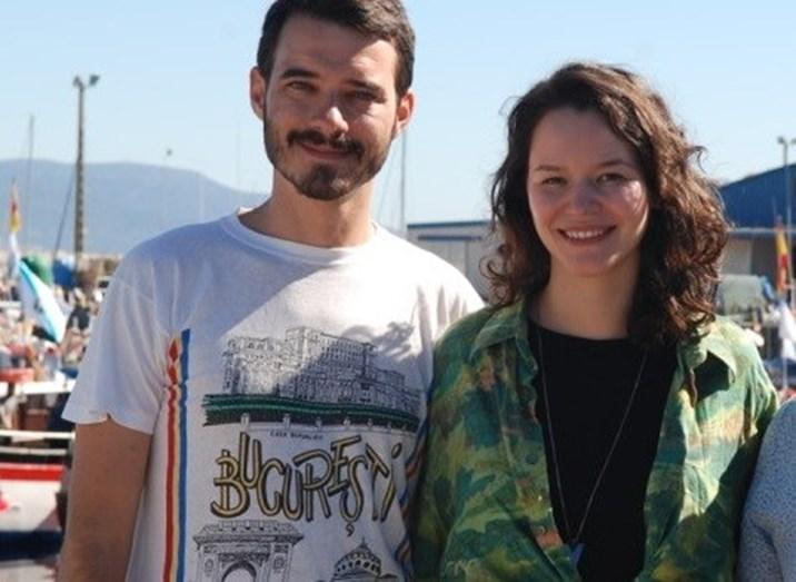 André Marques e Joana de Verona