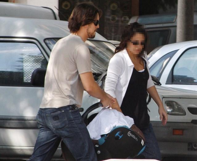 Diogo Morgado com a mulher Cátia Oliveira, quando Afonso nasceu