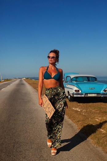 Joana Câncio em Cayo Coco, Cuba