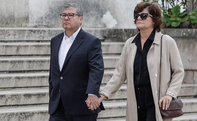 Júlia Pinheiro e o marido, Rui Pêgo