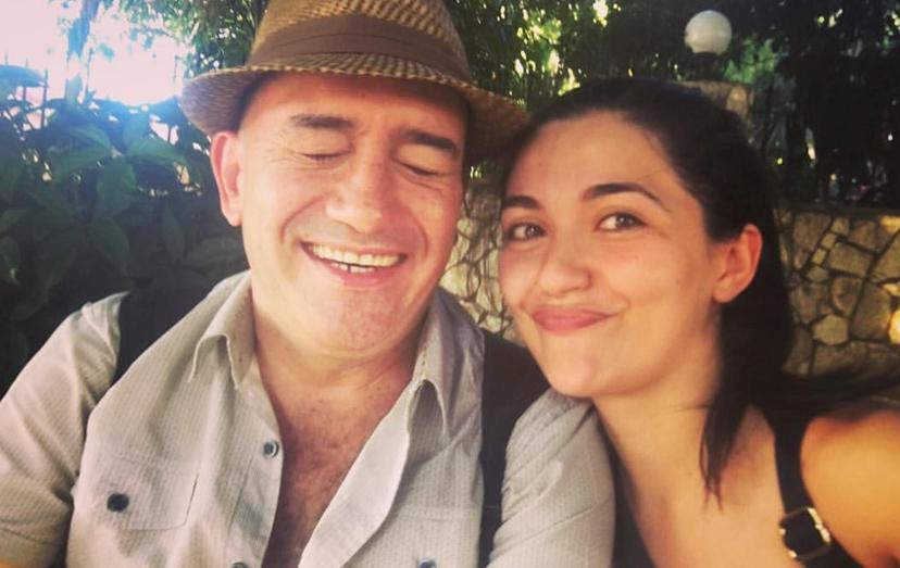 O amor de Sara Barradas e José Raposo