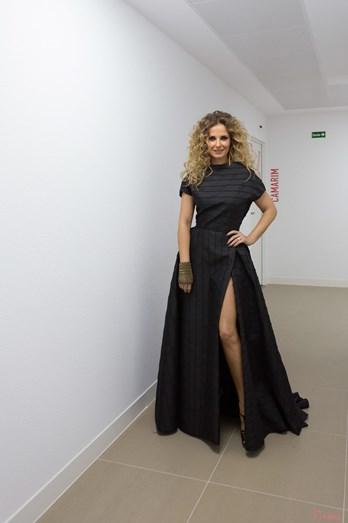 Cristina Ferreira apresentou no domingo a 3ª gala especial de 'A Tua Cara Não Me É Estranha' com uma criação de Micaela Oliveira