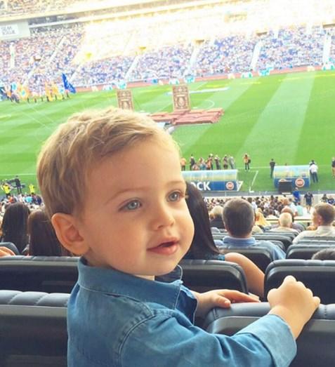 Martín, filho de Sara Carbonero e Iker Casillas