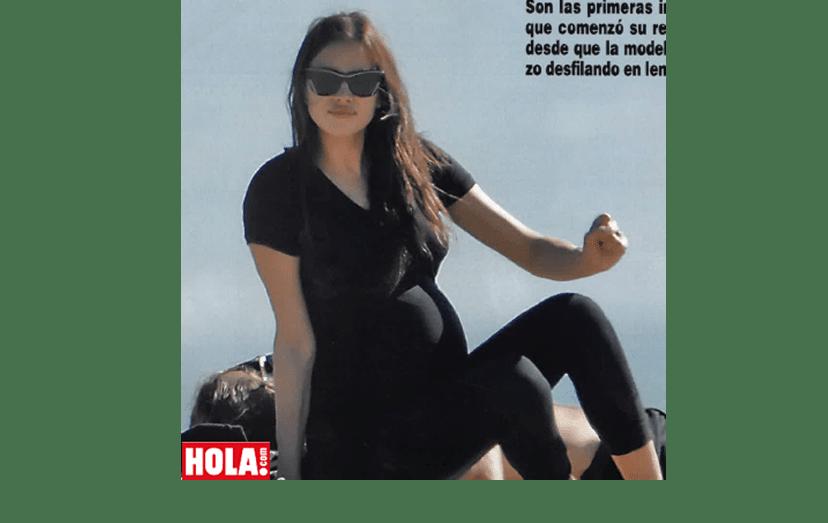 Irina Shyk grávida