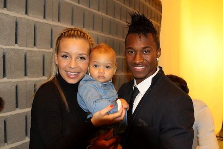 Luciana Abreu com o ex-marido, Yannick Djaló, o internacional jogador de futebol que, segundo a cunhada, Ana Luísa Abreu, está a pagar a nova carreira musical de Lucy.