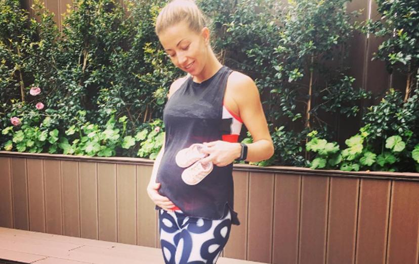 Laura Figueiredo uma grávida sexy