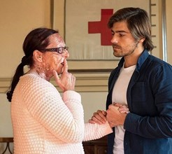 Lourenço Ortigão emocionado com história de Lídia, que sofre com um cancro