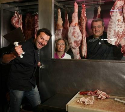 Ljubomir Stanisic ameaça proprietário de restaurante com marisco e peixe podres