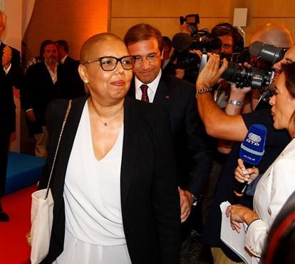 Mulher de Passos Coelho volta a viver o drama do cancro