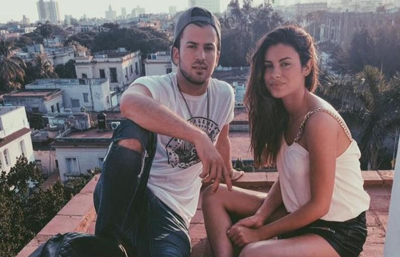 Carolina Loureiro declara-se a David Carreira