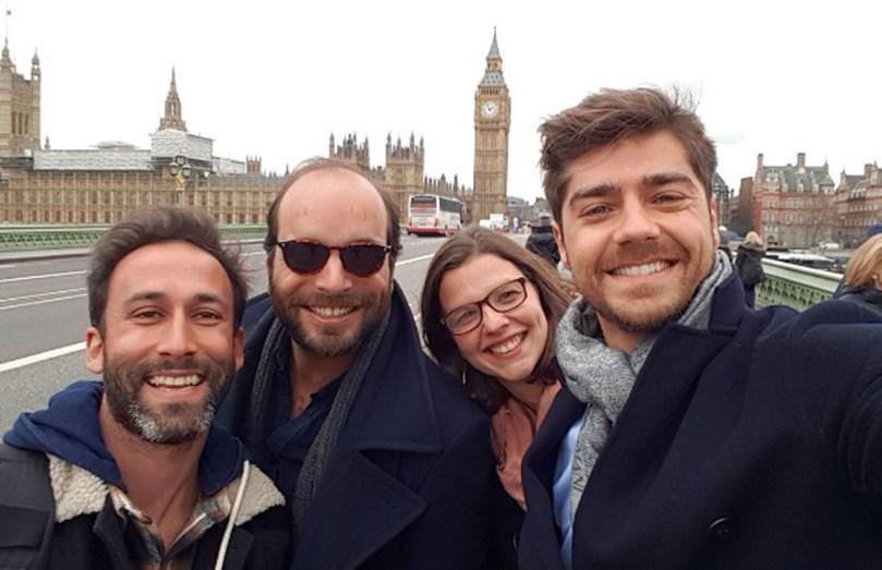 Lourenço Ortigão viaja até Londres