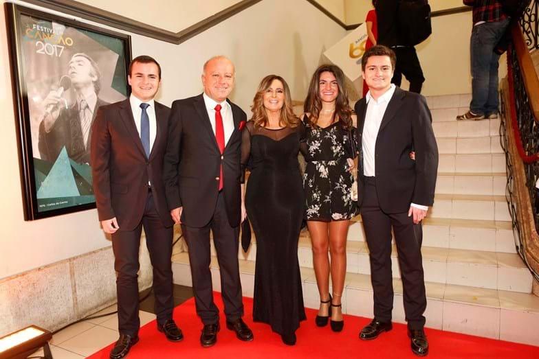 A família de Serenella Andrade