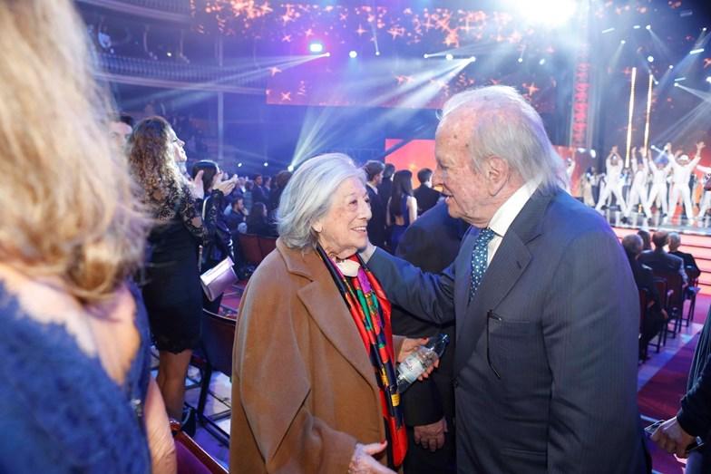 Eunice Muñoz e Pinto Balsemão