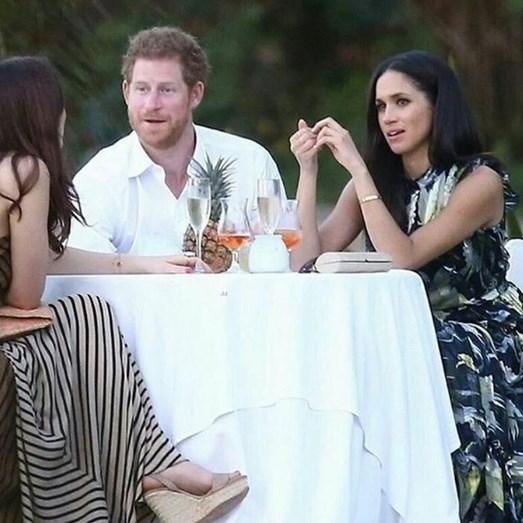 Príncipe Harry e a namorada Meghan Markle