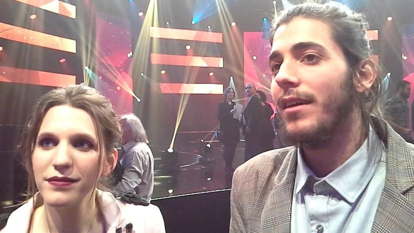 Luísa Sobral e Salvador Sobral, autora e intérprete vencedores do Festival da Canção