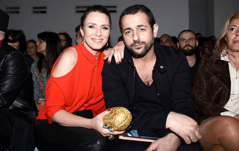 Gonçalo Diniz e Sofia Cerveira não descuram os momentos a dois e estiveram na ModaLisboa