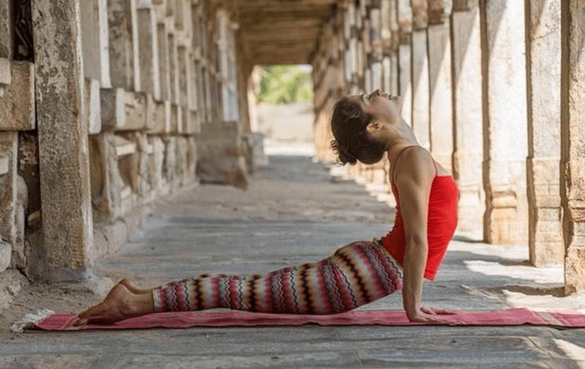 Uma das imagens promocionais do retiro espiritual em que se encontra José Carlos Pereira. O yoga é só uma das terapias que ali se praticam
