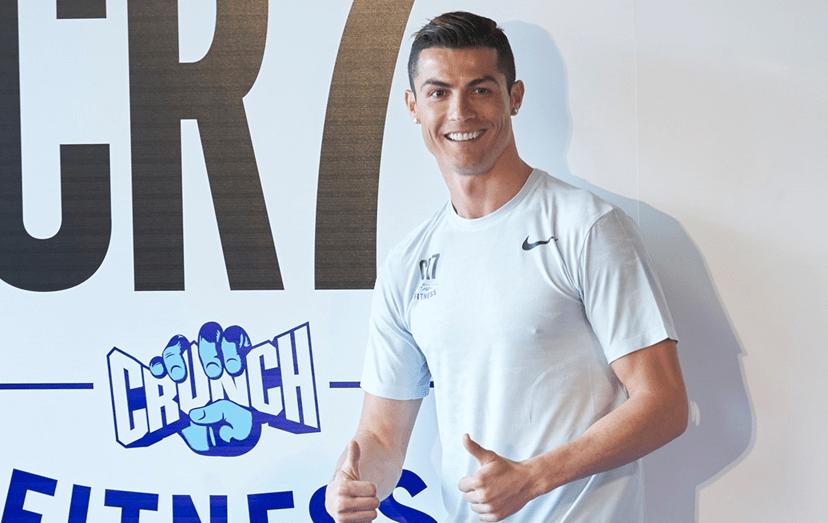 Cristiano inaugurou novo ginásio em Madrid