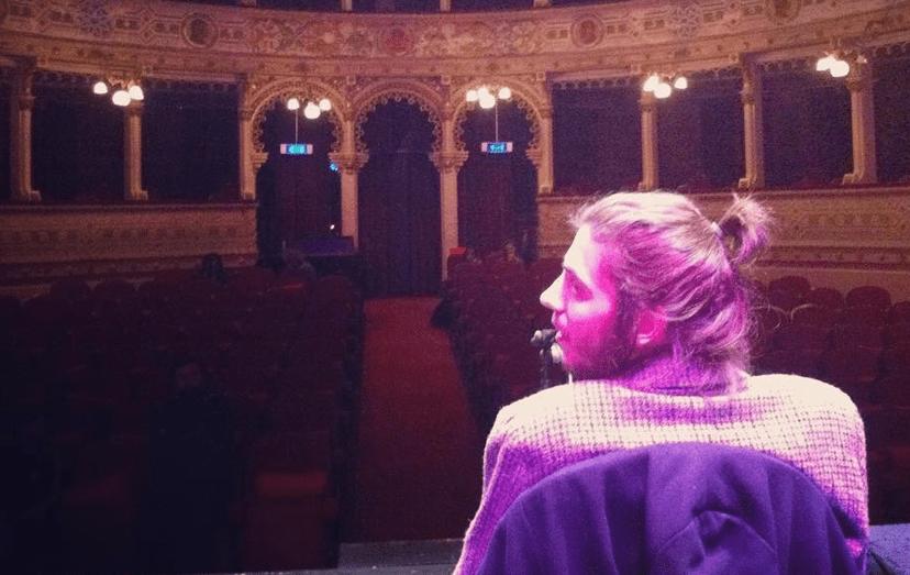 Salvador Sobral passou por Évora, no dia 25 de fevereiro, onde atuou no Teatro Garcia de Resende