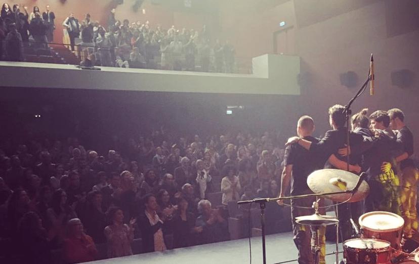 O vencedor do Festival RTP da Canção foi recebido em apoteose, na cidade algarvia