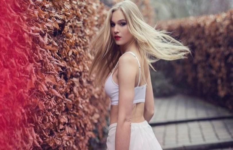 Sanna Ladera é uma modelo belga
