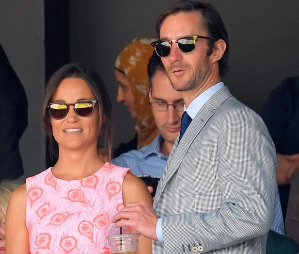 Pippa Middleton e o noivo James Matthews