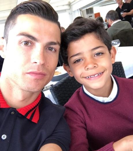 Cristiano Ronaldo e Cristianinho