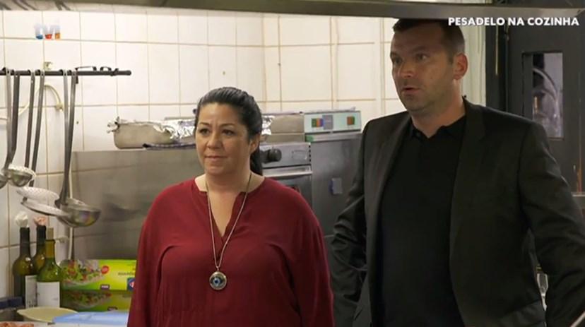 Não foi fácil a relação de Sandra com Ljubomir, no Tapas, na Moita