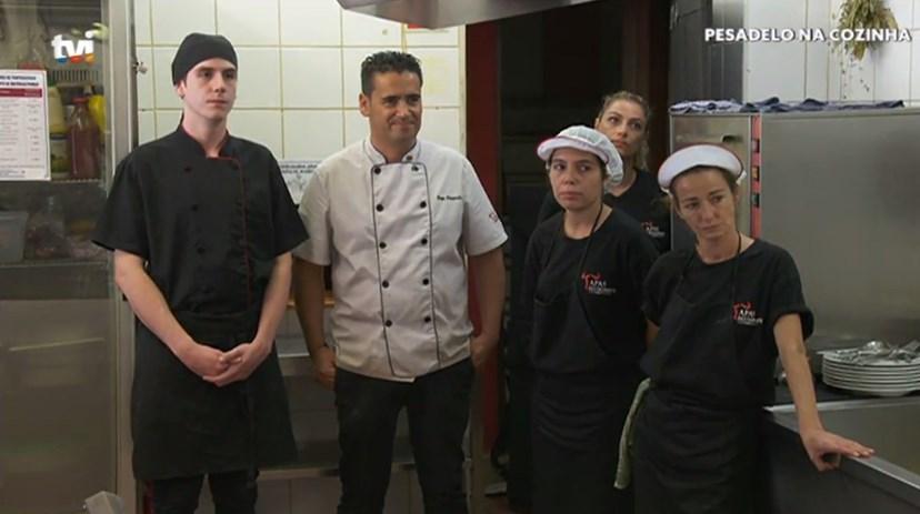 A equipa do restaurante Tapas