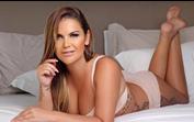 Katia Aveiro cada vez mais magra