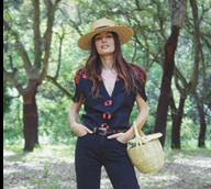 Helena Coelho não larga a cesta